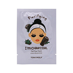 Čisticí gelové polštářky pod oči I`m Charcoal (Purifying Eye Patch) 21 ml
