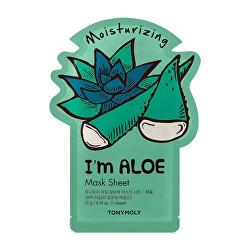 Hydratační plátýnková maska I`m Aloe (Moisturizing Mask Sheet) 21 ml
