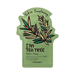 Uklidňující plátýnková maska I`m Tea Tree (Skin Soothing Mask Sheet) 21 ml