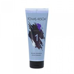 Sampon szőke, fehérített és melírozott  Sapphire (Blonde Shampoo) 250 ml