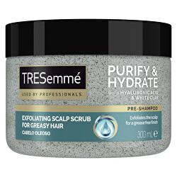 Čistiaci peeling na pokožku hlavy Purify & Hydrate (Exfoliating Scalp Scrub) 300 ml