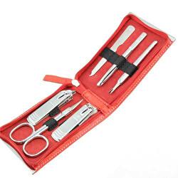 Set de manichiură roșie - 6 unelte
