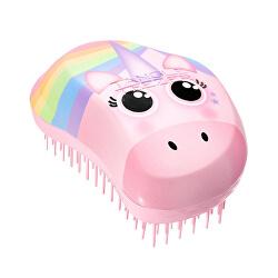Kartáč na vlasy Original Rainbow Unicorn Print
