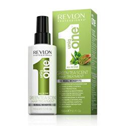 Bezoplachová péče ve spreji se zeleným čajem Uniq One Green Tea (All In One Hair Treatment) 150 ml