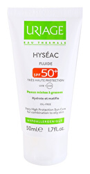 Matujúci fluid s hydratačným účinkom SPF 50+ Hyséac (Fluid) 50 ml