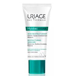 Regenerační a hydratační krém pro pleť vysušenou a podrážděnou léčbou akné Hyséac Hydra (Restructuring Skin Care) 40 ml