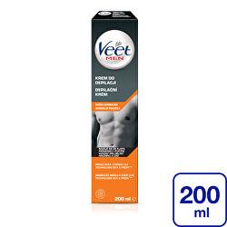 Depilační krém pro muže pro normální pokožku Men Silk & Fresh 200 ml