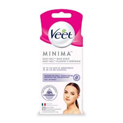 Hypoalergenní voskové pásky na obličej Minima 20 ks