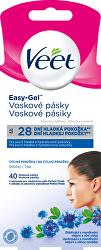 Voskové pásky na obličej pro citlivou pokožku 40 ks