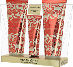 Set de produse cosmetice pentru îngrijirea corpului Red Christmas