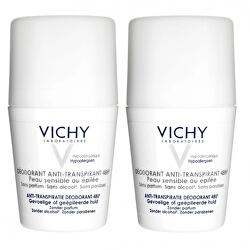 48 hodinový deodorant roll-on pro citlivou a podrážděnou pokožku 2 x 50 ml