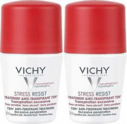 Antiperspirant roll-on proti nadměrnému pocení (Stress Resist 72H) 2 x 50 ml