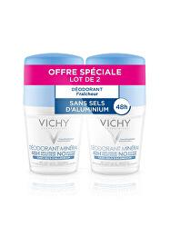 Minerálne guľôčkový deodorant ( Mineral Deodorant) 2 x 50 ml