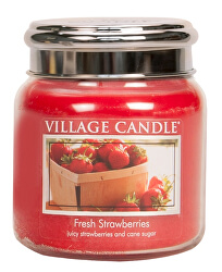 Vonná svíčka ve skle Fresh Strawberry 390 g