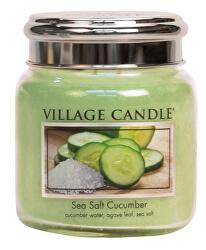 Vonná svíčka ve skle Sea Salt Cucumber 390 g