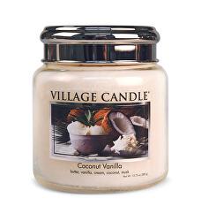 Vonná svíčka ve skle Coconut Vanilla 390 g