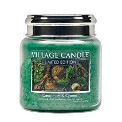 Vonná svíčka ve skle Cardamom & Cypress 390 g