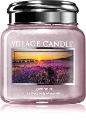 Vonná svíčka ve skle Lavender 390 g