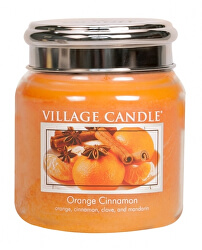 Vonná svíčka ve skle Orange Cinnamon 390 g
