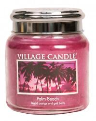 Vonná svíčka ve skle Palm Beach 390 g