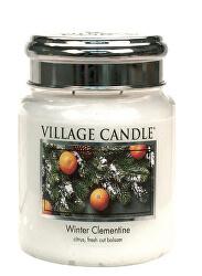 Vonná svíčka ve skle Winter Clementine 390 g
