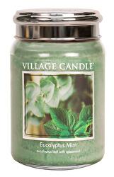 Vonná svíčka ve skle Eukalyptus a máta (Eucalyptus Mint) 645 g