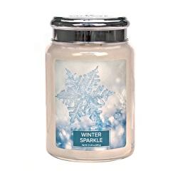 Vonná svíčka ve skle Winter Sparkle 602 g