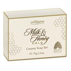Szappan Cream Milk & Honey Gold (krémes szappan Bar) 75g