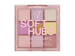 Paleta de farduri de ochi Soft Hues Rose Quartz (Pressed Pigment Palette) 8,1 g