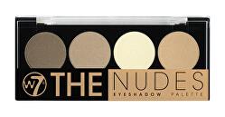 Paletka očných tieňov The Nudes (Eyeshadow Palette) 4 g
