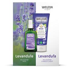 Kosmetická sada Levandulová relaxační péče