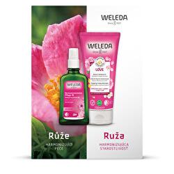 Kosmetická sada Růžová pěsticí péče