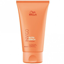 Bezoplachový krém proti krepatění pro suché a poškozené vlasy Invigo Nutri-Enrich (Frizz Control Cream) 150 ml