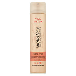 Hydratačný lak na vlasy Wella flex (Hydro Style Hair spray) 250 ml