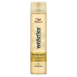 Lak na farbené vlasy Wella flex Brilliant Color s ( Hair spray) 250 ml