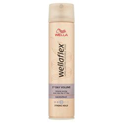 Lak na vlasy pre zväčšenie objemu Wella flex 2nd Day Volume ( Hair spray) 250 ml
