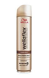 Lak na vlasy s mega silnou fixáciou Wella flex Power Hold ( Hair spray) 250 ml