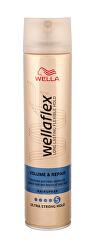 Lak na vlasy s ultra silnú fixáciu pre objem vlasov Wella flex ( Volume & Repair Hair spray) 250 ml