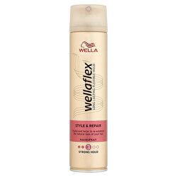 Lak na poškodené vlasy Wella flex ( Style & Repair Hair spray) 250 ml