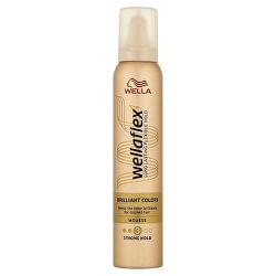 Penové tužidlo pre farbené vlasy Wella flex Brilliant Color s (Mousse) 200 ml