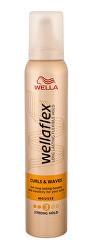 Penové tužidlo pre vlnité vlasy Wella flex Curl & Waves (Mousse) 200 ml