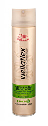 Lak na vlasy s ultra silnou fixáciou Wella flex Flexible Ultra Strong ( Hair spray) 250 ml