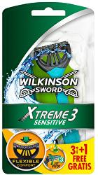 Jednorázový holicí strojek pro muže Wilkinson Xtreme3 Sensitive 4 ks