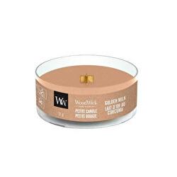 Aromatická malá svíčka s dřevěným knotem Golden Milk 31 g