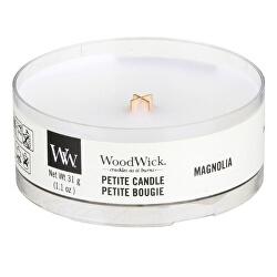 Aromatická malá svíčka s dřevěným knotem Magnolia 31 g