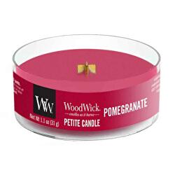 Aromatická malá sviečka s dreveným knôtom Pomegranate 31 g