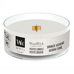 Aromatická malá svíčka s dřevěným knotem Smoked Jasmine 31 g