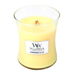 Vonná sviečka váza Lemongrass & Lily 275 g