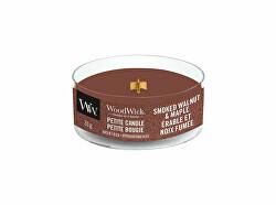 Aromatická malá svíčka s dřevěným knotem Smoked Walnut & Maple 31 g