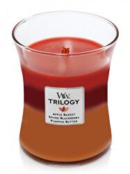 Vonná svíčka střední Trilogy Autumn Harvest 275 g